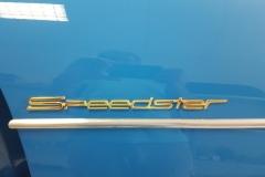 Porsche Speedster/speedsterblau/1955