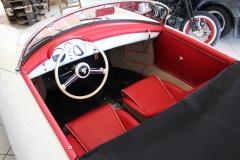Restauration Porsche Speedster gletscherweiß 1955